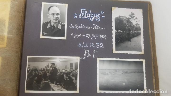 Militaria: Álbum de Fotos de un soldado Alemán de la Luftwaffe Segunda Guerra Mundial 154 Fotografias - Foto 52 - 132486574