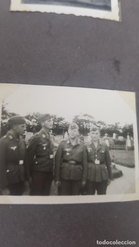 Militaria: Álbum de Fotos de un soldado Alemán de la Luftwaffe Segunda Guerra Mundial 154 Fotografias - Foto 58 - 132486574