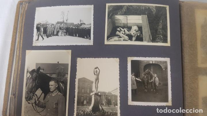 Militaria: Álbum de Fotos de un soldado Alemán de la Luftwaffe Segunda Guerra Mundial 154 Fotografias - Foto 63 - 132486574