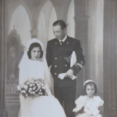 Militaria: FOTOGRAFÍA SARGENTO INFANTERÍA DE MARINA. LAUREADA COLECTIVA 18 DE JULIO CÁDIZ. Lote 132763386