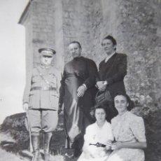 Militaria: FOTOGRAFÍA CORONEL DEL EJÉRCITO NACIONAL. SANTA CASILDA 1938. Lote 132765434