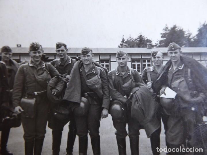 FOTOGRAFÍA SOLDADOS LUFTWAFFE. (Militar - Fotografía Militar - II Guerra Mundial)