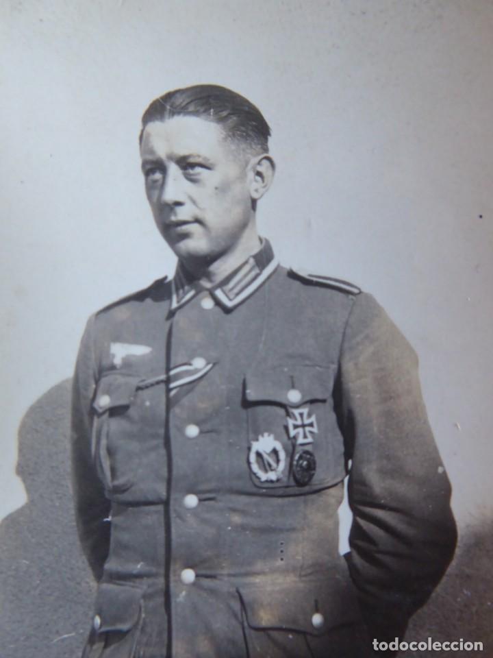 FOTOGRAFÍA SARGENTO DEL EJÉRCITO ALEMÁN. 1943 (Militar - Fotografía Militar - II Guerra Mundial)