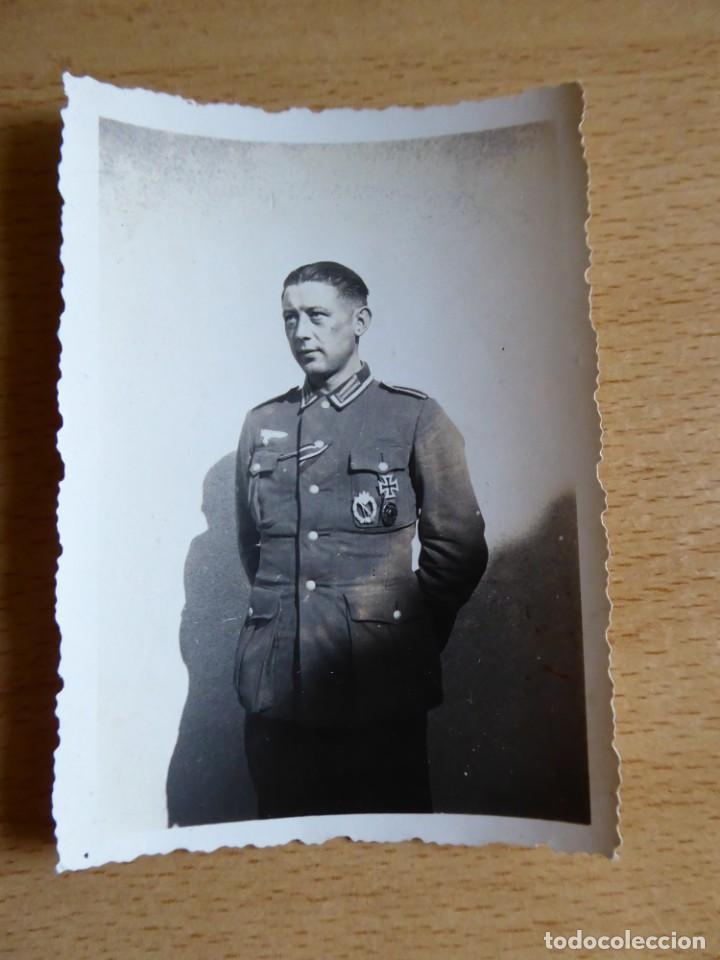 Militaria: Fotografía sargento del ejército alemán. 1943 - Foto 2 - 132766650