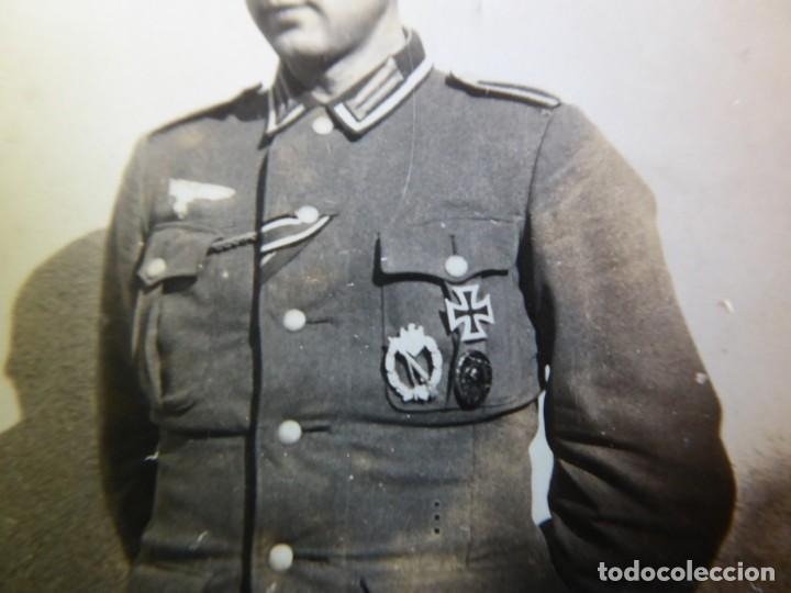 Militaria: Fotografía sargento del ejército alemán. 1943 - Foto 3 - 132766650