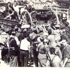 Militaria - MILICIANOS, GUARDIAS ASALTO REPUBLICA SIERRA MADRID CAÑONES DEFENSA MADRID 1936 GUERRA CIVIL - 132813698