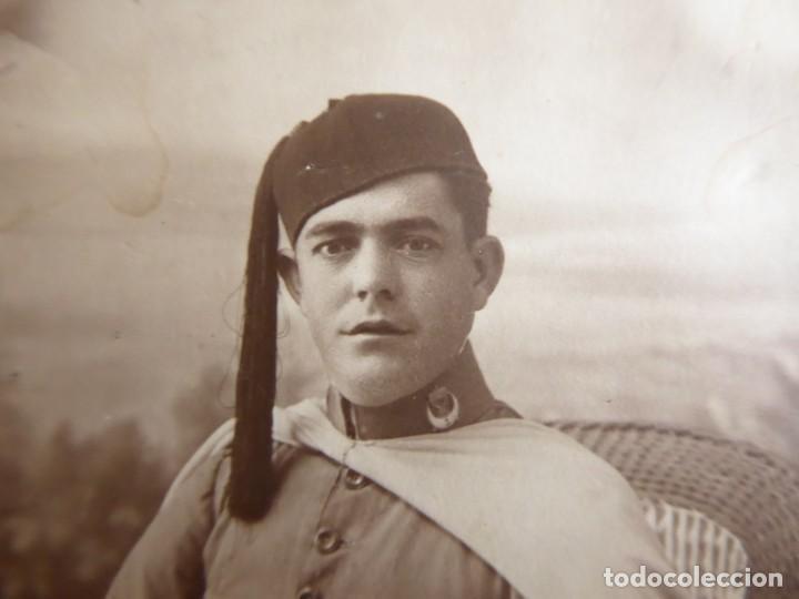 Militaria: Fotografía soldado Regulares. Ceuta - Foto 4 - 132831082