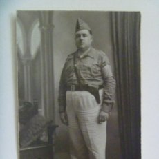 Militaria: GUERRA CIVIL - MILICIAS NACIONALES: FOTO GUARDIA CIVICO CON BRAZALETE. SEVILLA. Lote 61410835