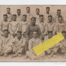 Militaria: (ALB-TC-15) FOTOGRAFIA POSTAL MILITARES RARA . Lote 132833518