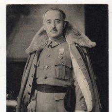 Militaria: EL GENERALÍSIMO FRANCO POR JALÓN ANGEL. FECHADA EL 7 DE NOVIEMBRE DE 1938. CENSURADA.. Lote 133130630