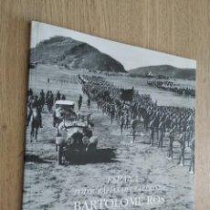 Militaria: ESPAÑA: FOTOGRAFIAS DEL LABERINTO BARTOLOME ROS 1997. AÑOS 20. CATALOGO. Lote 133383738