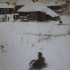 Militaria: FOTOGRAFÍA SOLDADO DIVISIÓN AZUL. RUSIA 1942. Lote 133497462