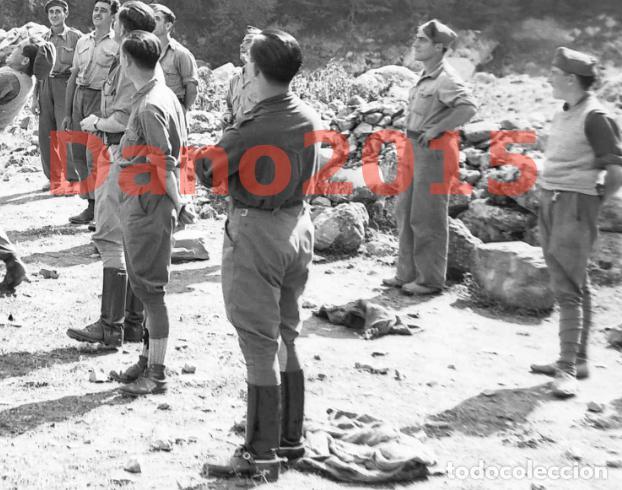 Militaria: Huesca, Campamento los Soldados se Divierten, Aragon - Guerra Civil Española - Negativo de Celuloide - Foto 5 - 133504826