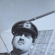Militaria: FOTOGRAFÍA PILOTO AVIACIÓN. GETAFE 1957. Lote 133581410