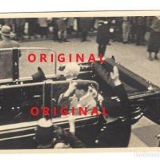 Militaria: ADOLF HITLER Y HINDENBURG EN EL AÑO 1933. FOTO ORIGINAL EN PAPEL DE LA ÉPOCA AGFA LUPEX. Lote 133588182