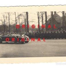 Militaria: HITLER, GÖRING, RAEDER Y BLOMBERG EN CIUDAD ALEMANA - PAPEL ORIGINAL DE LA ÉPOCA AGFA LUPEX. Lote 133588806