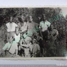Militaria - FOTOGRAFÍA ORIGINAL. SOLDADOS VILLAFRANCA DEL CASTILLO. GUERRA CIVIL SEPTIEMBRE DE 1937 (9 X 6 CM) - 133613670