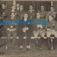 Militaria: ZARAGOZA, 1937, INGRESO DEL GENERAL MOSCARDO EN LA REAL MAESTRANZA DE ZARAGOZA, 23X12 CMS. Lote 133668990