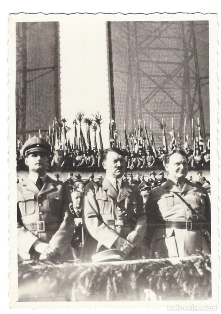 HITLER, HESS Y GÖRING EN ACTO OFICIAL (Militar - Fotografía Militar - II Guerra Mundial)