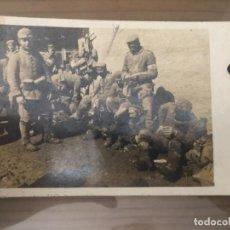 Militaria: ANTIGUA FOTOGRAFÍA POSTAL MILITAR SOLDADOS INGLESES SANITARIOS . Lote 134001190