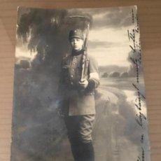 Militaria: ANTIGUA FOTOGRAFÍA MILITAR SOLDADO FINLANDÉS HELSINKI 1923. Lote 134001382