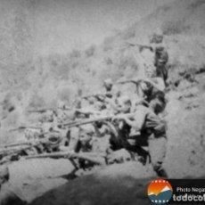 Militaria: 15 NEGATIVOS EN EL FRENTE GUERRA CIVIL ESPAÑOLA EN CORDOBA. INEDITOS. Lote 134010122