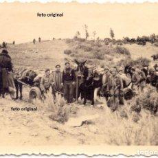 Militaria: TROPAS NACIONALES LEGION CONDOR ZONA LA GRANADELLA (LLEIDA) RUMBO CATALUÑA GUERRA CIVIL. Lote 134023534
