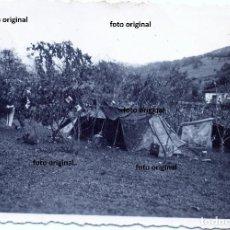 Militaria: CAMPAMENTO ARTILLERO LEGION CONDOR FRENTE NORTE GUERRA CIVIL. Lote 134094126