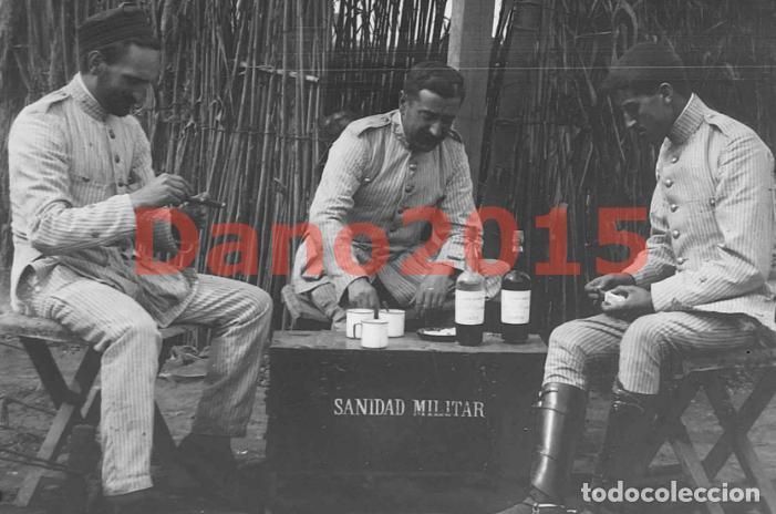 Militaria: Campaña Militar Guerra del Rif Marruecos 1909 Sanidad Militar - Negativo de Cristal - Foto 2 - 134308010