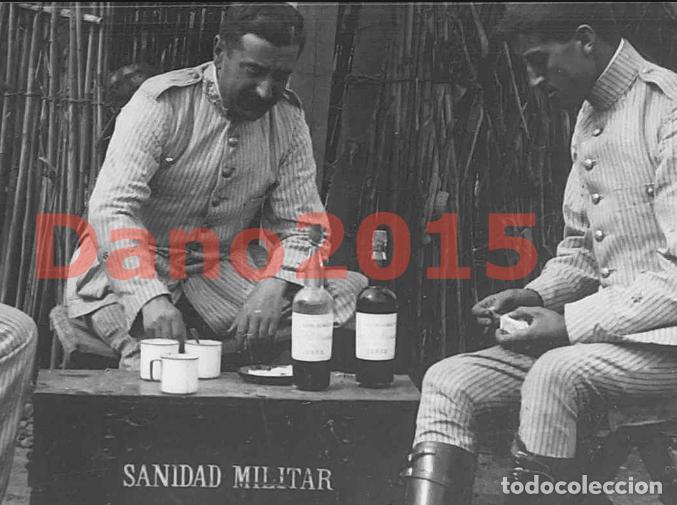 Militaria: Campaña Militar Guerra del Rif Marruecos 1909 Sanidad Militar - Negativo de Cristal - Foto 3 - 134308010