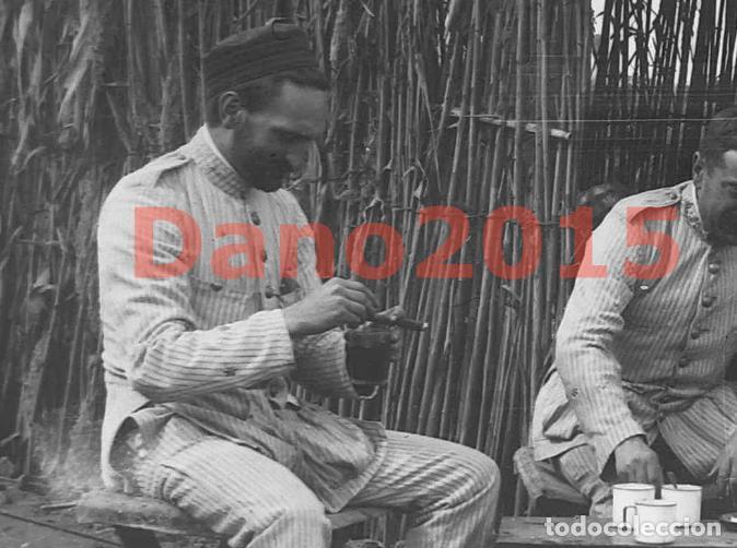 Militaria: Campaña Militar Guerra del Rif Marruecos 1909 Sanidad Militar - Negativo de Cristal - Foto 4 - 134308010
