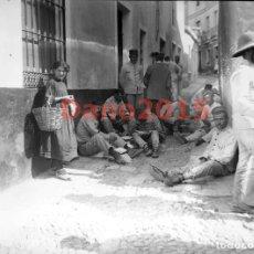 Militaria: CAMPAÑA MILITAR GUERRA DEL RIF MARRUECOS 1909 - NEGATIVO DE CRISTAL - FOTOGRAFIA ANTIGUA. Lote 134333566