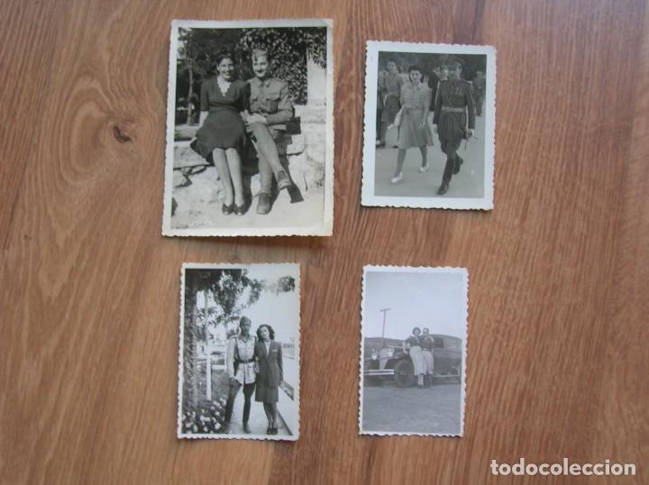 LOTE DE FOTOGRAFIAS DE LA GUERRA CIVIL E INMEDIATA POSGUERRA. (Militar - Fotografía Militar - Otros)