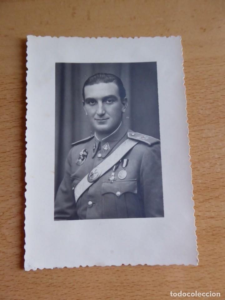 Militaria: Fotografía oficial ingenieros del ejército español. Profesorado Militar - Foto 2 - 134957834