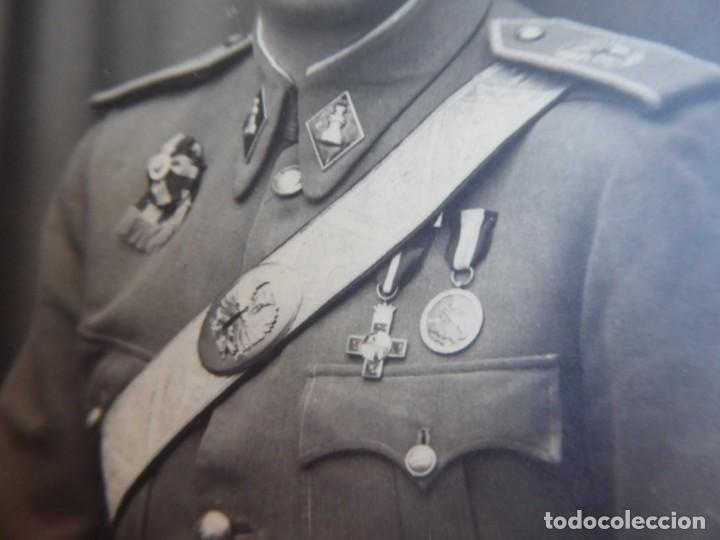 Militaria: Fotografía oficial ingenieros del ejército español. Profesorado Militar - Foto 3 - 134957834
