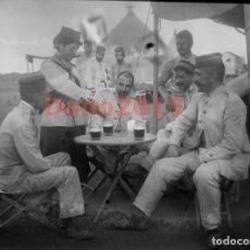 Militaria: CAMPAÑA MILITAR GUERRA DEL RIF MARRUECOS 1909 - NEGATIVO DE CRISTAL - FOTOGRAFIA ANTIGUA. Lote 134968102