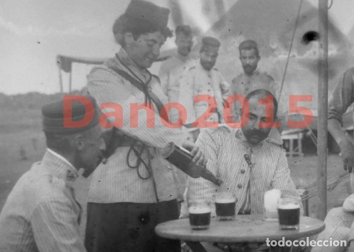 Militaria: Campaña Militar Guerra del Rif Marruecos 1909 - Negativo de Cristal - Fotografia Antigua - Foto 2 - 134968102
