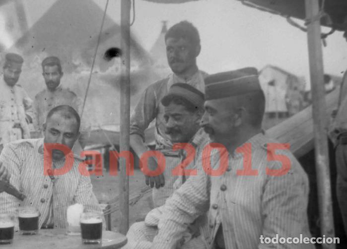 Militaria: Campaña Militar Guerra del Rif Marruecos 1909 - Negativo de Cristal - Fotografia Antigua - Foto 3 - 134968102