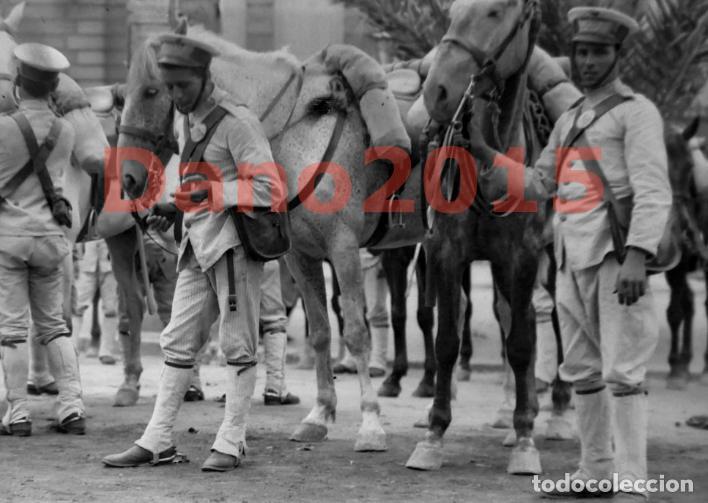 Militaria: Campaña Militar Guerra del Rif Marruecos 1909 - Negativo de Cristal - Fotografia Antigua - Foto 2 - 134968242