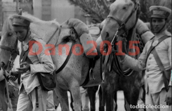 Militaria: Campaña Militar Guerra del Rif Marruecos 1909 - Negativo de Cristal - Fotografia Antigua - Foto 3 - 134968242