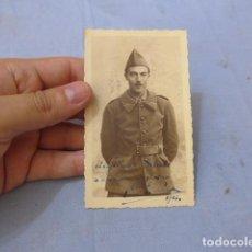 Militaria: * ANTIGUA FOTOGRAFIA DE SOLDADO FRANCES ALIADO ALEMAN EN RUSIA, GENERAL VIERNA. DIVISION AZUL. ZX. Lote 135033602