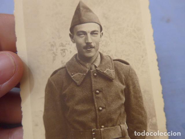 Militaria: * Antigua fotografia de soldado frances aliado aleman en Rusia, general vierna. Division azul. ZX - Foto 3 - 135033602