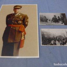Militaria: * ANTIGUA 3 FOTOGRAFIA DEL GENERAL JOSE VIERNA. DIVISION AZUL Y LEGION. ZX. Lote 135035710