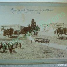 Militaria: FOTOGRAFÍA ANTIGUA ORIGINAL. RECUERDO DE LA ACADEMIA DE ARTILLERÍA. ALFÉREZ ALUMNOS. SEGOVIA 1897. Lote 135217406