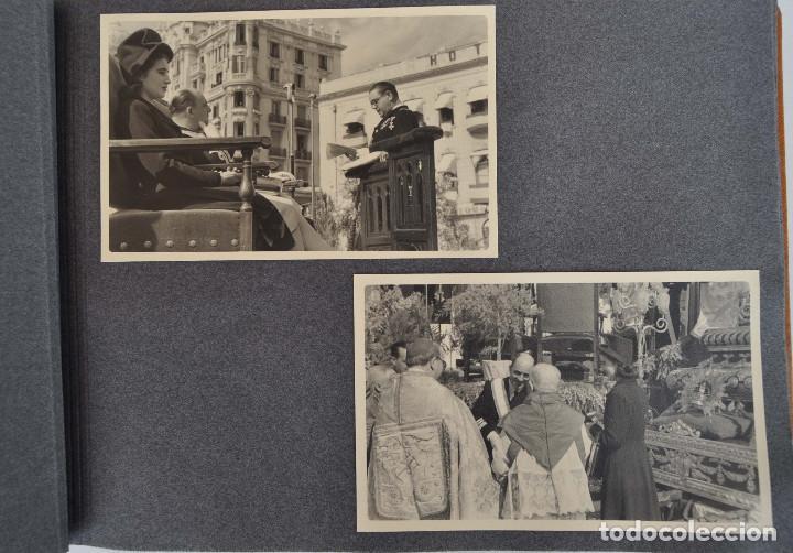 Militaria: ÁLBUM. ALICANTE 12 DE OCTUBRE 1944. VIRGEN DEL CARMEN. PERSONALIDADES. FALANGE. AVIACIÓN. BASE AÉREA - Foto 4 - 135226126