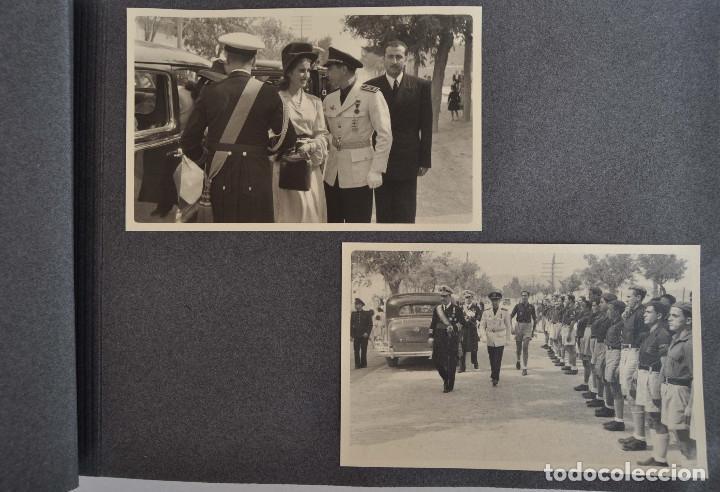 Militaria: ÁLBUM. ALICANTE 12 DE OCTUBRE 1944. VIRGEN DEL CARMEN. PERSONALIDADES. FALANGE. AVIACIÓN. BASE AÉREA - Foto 11 - 135226126