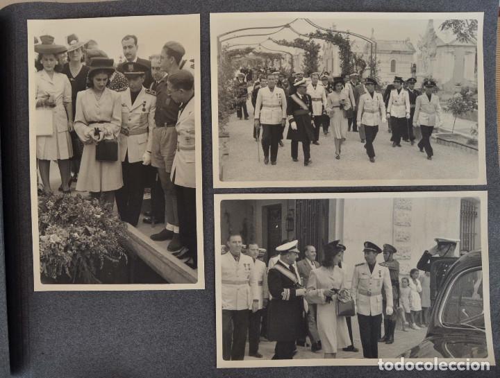 Militaria: ÁLBUM. ALICANTE 12 DE OCTUBRE 1944. VIRGEN DEL CARMEN. PERSONALIDADES. FALANGE. AVIACIÓN. BASE AÉREA - Foto 14 - 135226126
