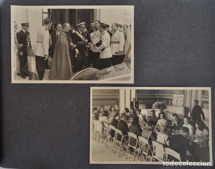 Militaria: ÁLBUM. ALICANTE 12 DE OCTUBRE 1944. VIRGEN DEL CARMEN. PERSONALIDADES. FALANGE. AVIACIÓN. BASE AÉREA - Foto 15 - 135226126