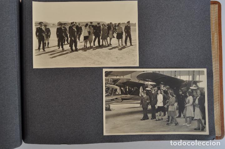Militaria: ÁLBUM. ALICANTE 12 DE OCTUBRE 1944. VIRGEN DEL CARMEN. PERSONALIDADES. FALANGE. AVIACIÓN. BASE AÉREA - Foto 18 - 135226126