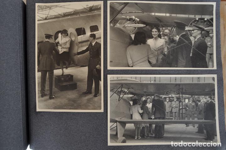 Militaria: ÁLBUM. ALICANTE 12 DE OCTUBRE 1944. VIRGEN DEL CARMEN. PERSONALIDADES. FALANGE. AVIACIÓN. BASE AÉREA - Foto 19 - 135226126